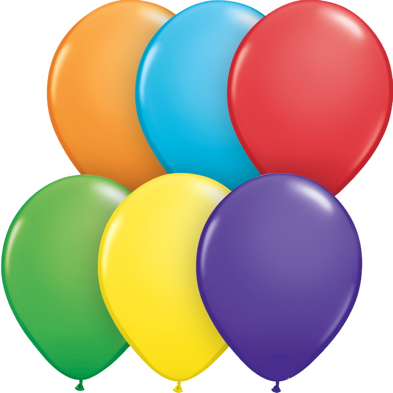 Latex Solid Colour Balloons