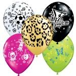 Themed Latex Balloons