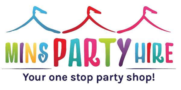 Mins Party Hire I Your One Stop Party Shop